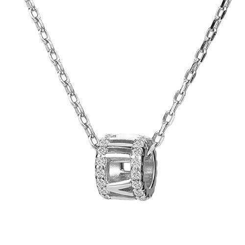 BIJOUX BOBBI [Gift Packaging Grand Twirl 925 Sterling Silver Premium Necklaces - Silver - S1561X
