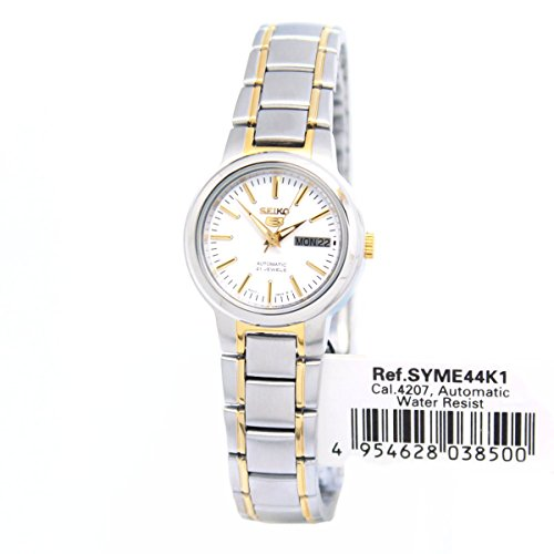 Seiko 5 Syme44k1 Women S Two Tone Self Winding Automatic Import It All