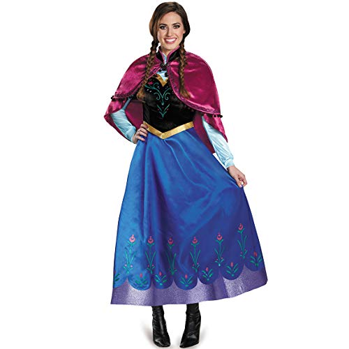 SEEKSUNGM Costume Women's, Halloween Costume, Sexy Ice and Snow Anna Princess Dress, Role Playing Game -
