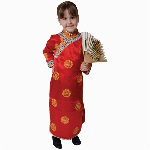 (Deluxe Chinese Girl Costume Set - Small)