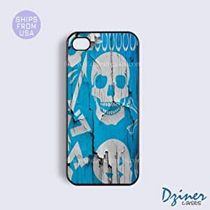 iPhone 4 4s Tough Case - Wall Skull iPhone Cover