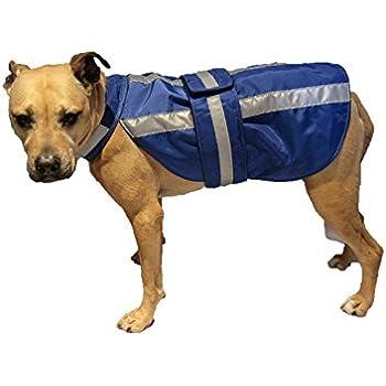MEDIUMBLUE DOG HEAVY NYLON COAT