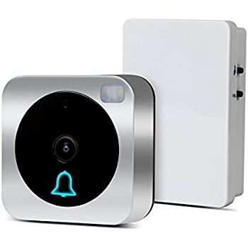 VueBell WIFI HD Camera Video Doorbell, with Motion Detection,Two Way Audio ,and Wireless Door Bell Chime Included(Hard wired version)
