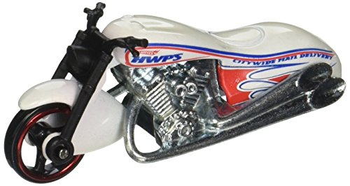 (2010 HOT WHEELS HW CITY WORKS 112/240 WHITE SCORCHIN' SCOOTER MOTORCYCLE 04 OF 10)