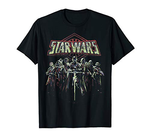Star Wars Kylo Ren And The Elite Reds Portrait Logo T-Shirt