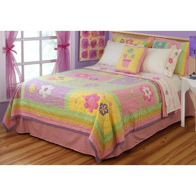 PEM America Sweet Helen Multicolor Quilt Set - Full