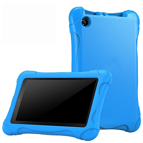 TIRIN Case For Fire 7 2015- Super Light Weight Children Cover Kids Case For Fire 7 Inch Display Tablet (Only Fit...