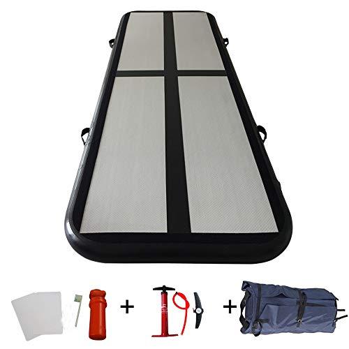 ibigbean Gymnastics Tumbling Mat Air Floor for Home Use, Beach, Park and Water