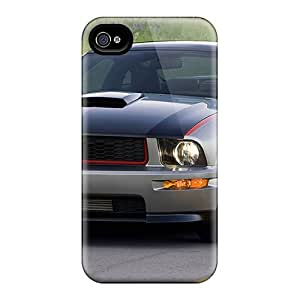 Slim Fit Tpu Protector Shock Absorbent Bumper Ford Mustang Av8r Case For Iphone 5/5s