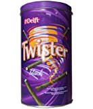 Delfi Twister Chocolate Wafer Roll With Vanilla Cream, 320g