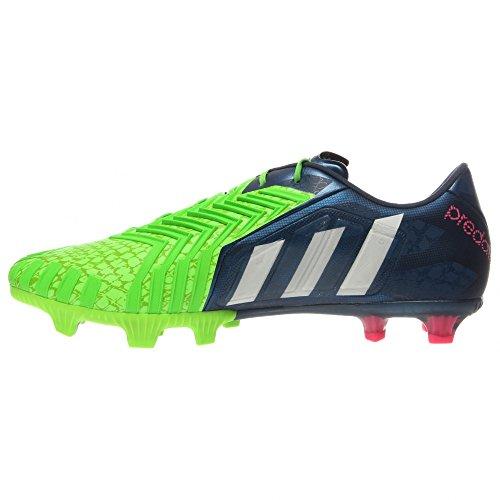 Details about Adidas Predator Instinct FG men's soccer cleats bluewhitegreen FG studs NEW
