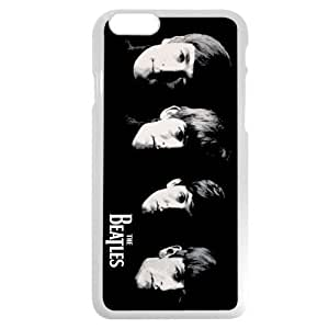 UniqueBox - Customized White Hard Plastic iPhone 6 4.7 Case, Popular Band The Beatles iPhone 6 case, Only fit iPhone 6(4.7 Inch)