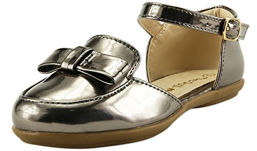 The Doll Maker Glossy Pointed Toe Sandal - FBA172010B-7 Bronze