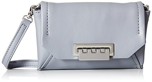 ZAC Zac Posen Eartha Envelope Crossbody-Grey, Elephant