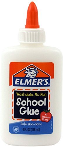 Elmer's Washable No-Run School Glue, 4 oz ( Case of 30 )