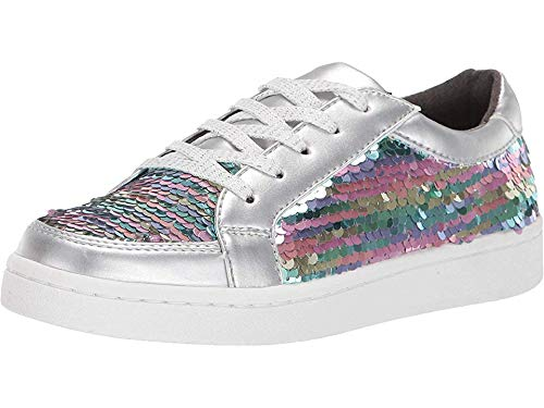 - Kenneth Cole REACTION Kids Girl's Luna Rosie (Little Kid/Big Kid) Silver Rainbow 4 M US Big Kid