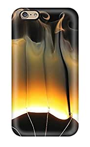 Flexible Back Case Cover For Iphone 6 - Flames