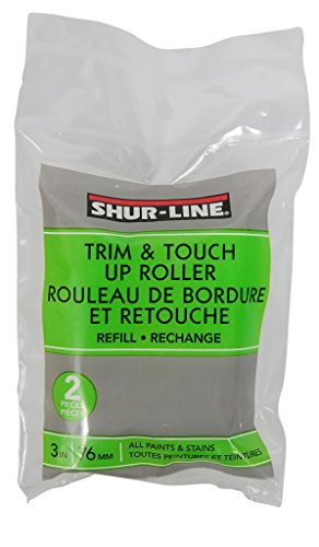 (Shur-Line 2007129 3-Inch Trim and Touch Up Roller Refill)