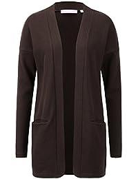 Love Coated Women's Long Sleeve Waffle Cardigan Sweater(4...