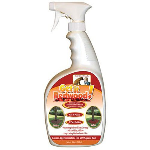 science solutions llc ss-red 24 OZ, Get It Red, Ready To Use, Mulch Colorant Spray by Science Solutions