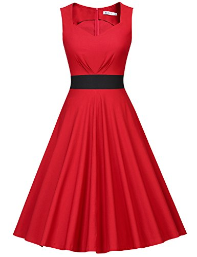 MUXXN Womens Sweetheart Length Rockabilly product image