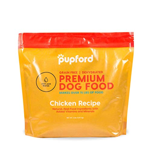 Pupford Premium Dehydrated Dog Food (Chicken, 4 lbs (Makes Over 15 lbs))