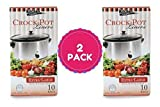 Multi-Use Large Slow Cooker - Crock Pot Liner Bags Fits 7 - 8 Quart Crock Pot 20 Ct