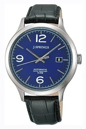 J. Springs Herren-Armbanduhr Classic Analog Automatik Leder BEA017