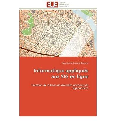 Informatique Applique Aux Sig En Ligne (Paperback)(English / French) - Common
