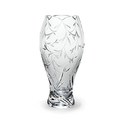 Amazon Lenox Opal Innocence Crystal Vase Decorative Vases