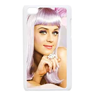 DIYPCASE Phone Case Katy Perry Bumper Plastic Customized Case For Ipod Touch 4