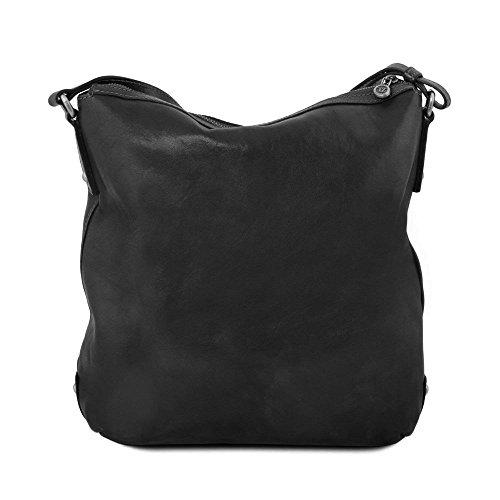Tuscany Leather - Alice - Sac cabas en cuir pour femme - Noir