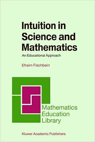ผลการค้นหารูปภาพสำหรับ Intuition in Science and Mathematics