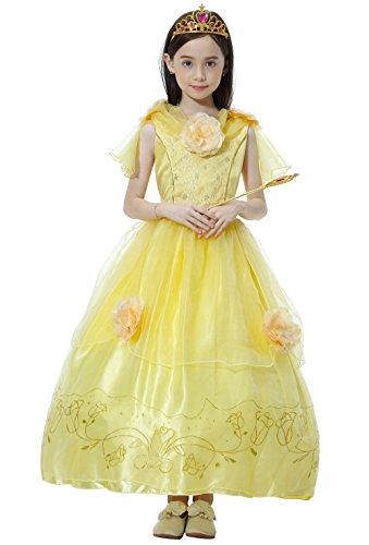 Princess Dress Up, Girl's Fancy Halloween Costumes (Simple Disney Costumes)