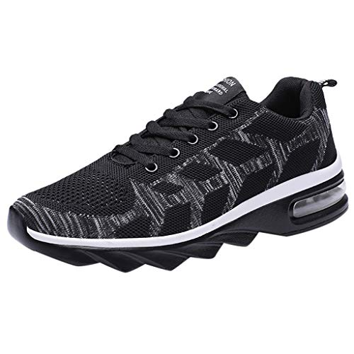 Amandaz Hip Hop Running Shoes Men's Fashion Black Red Sneakers Non-Slip Wearable Sports Shoes Cool Road Running Shoes (Metal Sonic 10 Inch Figure)