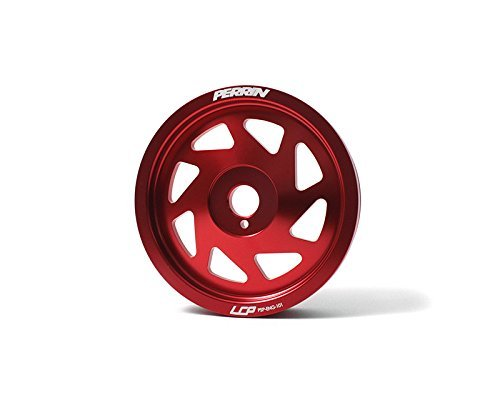 Perrin Performance Red Lightweight Crank Pulley Scion FRS 13-14