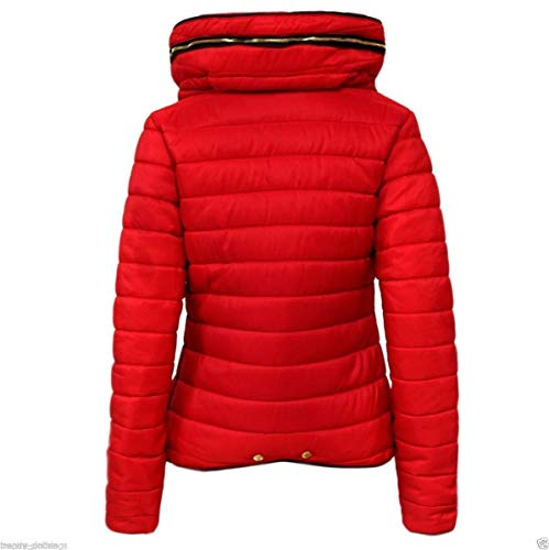 Femme Red Blouson Noir Fashioncrazexx Uni w6FpqnWxaT