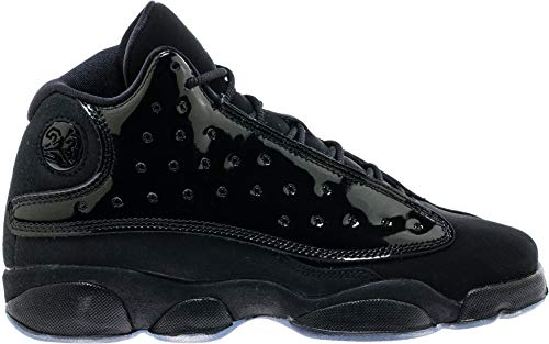 Jordan Nike Air 13 Retro Cap and Gown GS Kids Black 884129-012 (Size: 4.5Y) (Jordan Retro 4 Boys)