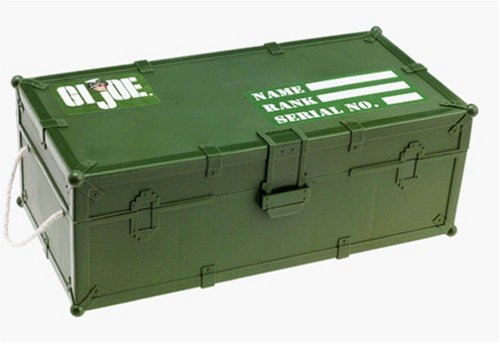 G.I. Joe Authentic Footlocker with Gear ()