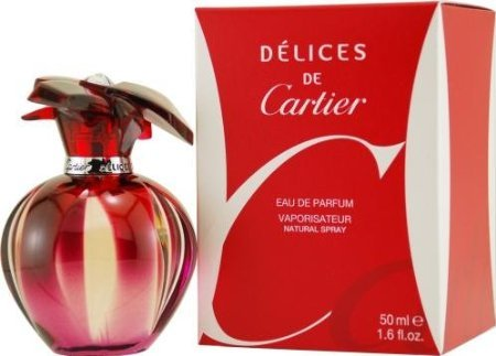 Ounce Parfum 1.6 Cartier (Delices De Cartier By Cartier For Women Eau De Parfum Spray 1.6 Oz)