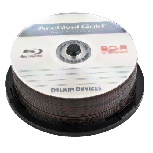 Delkin DDBD-R/25 SPIN 6X 200 Year 6x Blu-Ray Disc, 1 Pack by Delkin (Image #2)