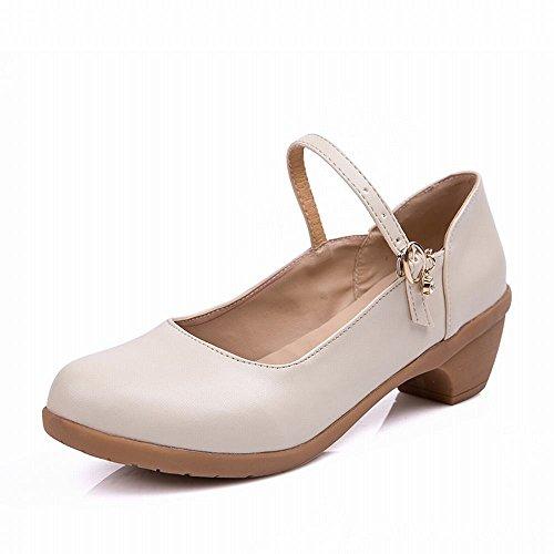 Baile de Jazz Zapatos Inferior de de y Baile Modern de Carne Onecolor Tobillo Samba Sandalias Suave del Cuero Blanca Zapatos BYLE Tendón qzFwSF