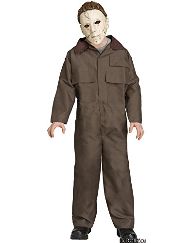 Fun World Big Boy's Michael Myers Child Halloween Costume Childrens Costume, Multi, Medium -