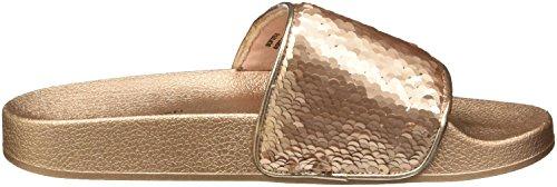 Sandals Sequins Steve Slide Pink Madden Gold Rose qqtXwR