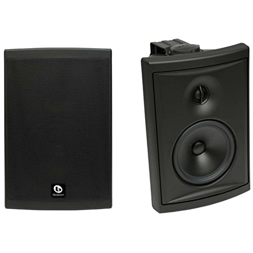 "Boston Acoustics Voyager 6-1/2"" 2-way Outdoor Speakers (Pair) Black VOYA60B"
