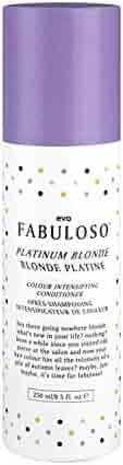 Evo Fabuloso Platinum Blonde Colour Intensifying Conditioner - 8.5 oz