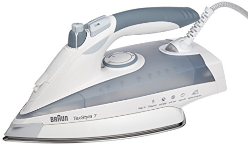 Braun TS785 TexStyle 7 2400-watt Steam Iron, 220-volt by Braun