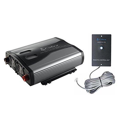Cobra Remote Control (Cobra CPI1575 1500 Watt 3 Outlets DC to AC Car Power Inverter w/ Remote)