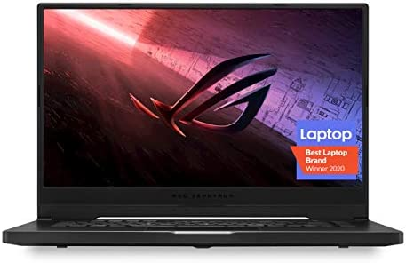 "ROG Zephyrus G15 Ultra Slim Gaming Laptop, 15.6"" 240Hz Pantone Validated FHD Display, GeForce RTX 2060 Max-Q, AMD Ryzen 9 4900HS, 16GB DDR4, 1TB PCIe SSD, Gig+ Wi-Fi 6, Windows 10 Home, GA502IV-PH96"