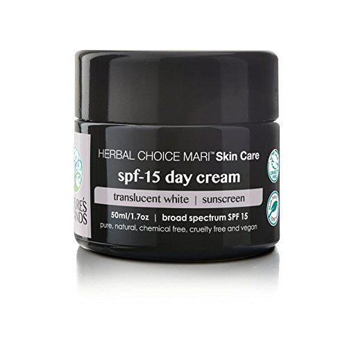 Herbal Choice Mari Natural SPF 15 Day Cream, Translucent White; - Mari Glasses